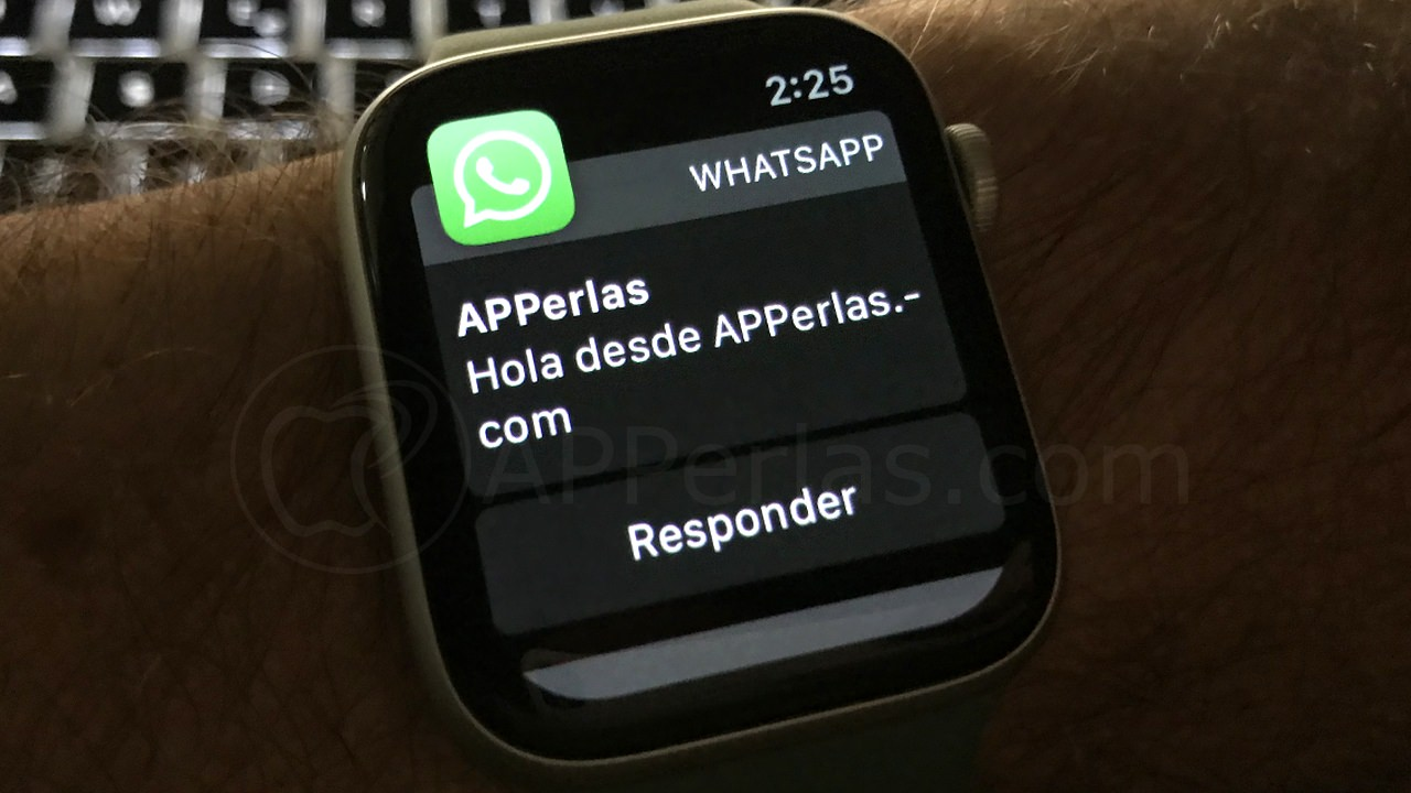 WhatsApp on Apple Watch
